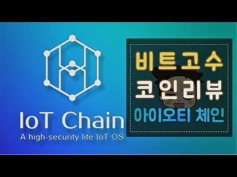 IoT Chain – 아이오티 체인 코인 리뷰