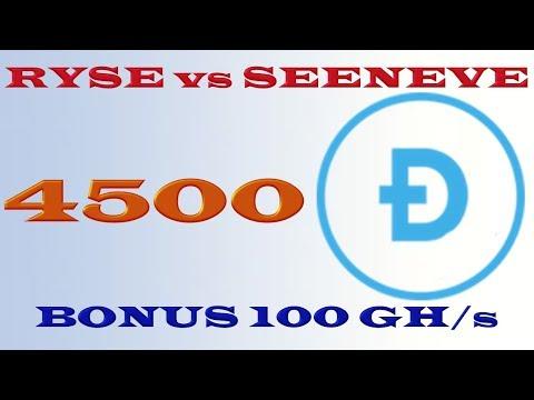 Набомбил 4500 DOGE | Бонус 100 GH/s за регистрацию!