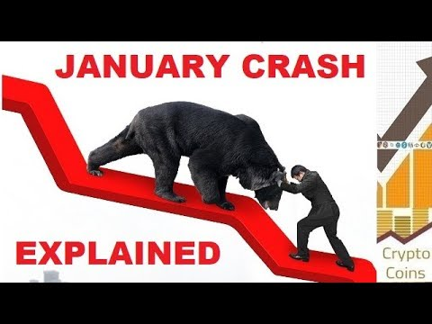 January Cryptocurrency Market Crash – The Investigation