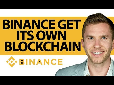 Binance Builds Its Own Blockchain   HUGE news for BNB coin