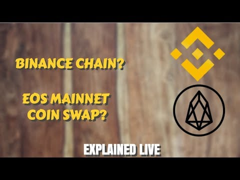 BINANCE CHAIN | EOS COIN SWAP(Explained in Hindi)