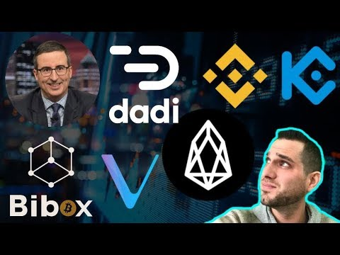Crypto News: Binance Supports EOS Swap | DADI Hack | Kucoin Issues| $BNB $DADI $EOS $KCS