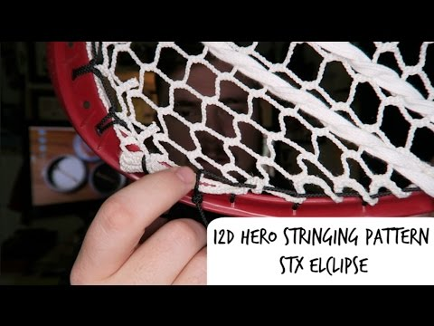 Stringing Pattern – STX Eclipse Semi Soft 12D Hero Mesh