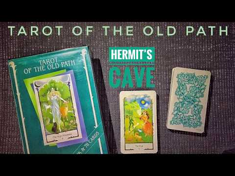 Tarot of the Old Path … a gift from Brian (BCC)