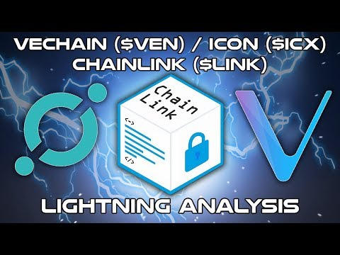 Vechain ($VEN),  ICON ($ICX), ChainLink ($LINK) – Lightning Analysis – Cryptocurrency Coin Analysis