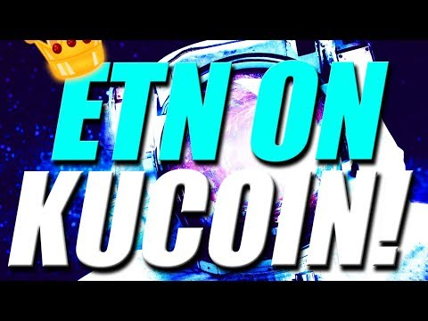 ELECTRONEUM ON KUCOIN! Electroneum ETN listed on Kucoin Exchange – Cryptocurrency Update 2018