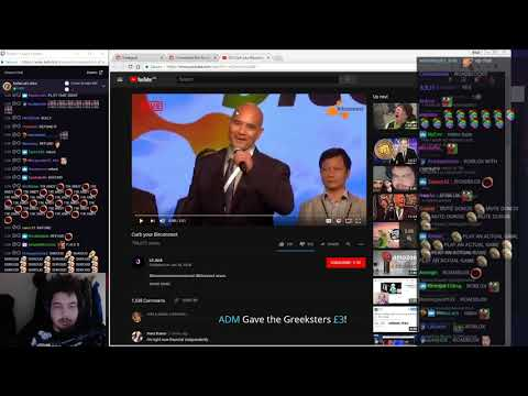"Greekgodx Reacts To ""Curb your Bitconnect"" (With Chat)"