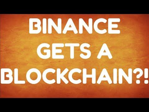 Binance Gets A Blockchain!?! Market Update And Coin Talk