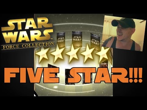 Star Wars – Force Collection #99: OPENING TIX UNTIL A GOOD FIVE STAR!!!!