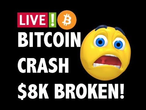 CRYPTO: BITCOIN CRASHING TO $5K? LITECOIN, ETHEREUM, XRP RIPPLE, MONERO, CARDANO,CRYPTOCURRENCY NEWS