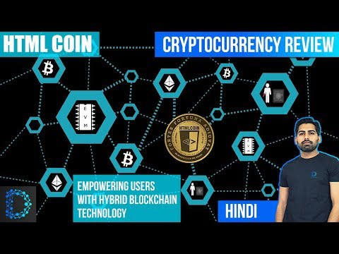 Cryptocurrency Review- HTML Coin (HTML) – Proof Of Mass Adoption – Price Prediction – [Hindi/Urdu]