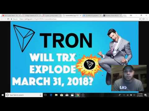 Tron TRX March 2018  will be Tron TRX biggest month ..CKJ Crypto News