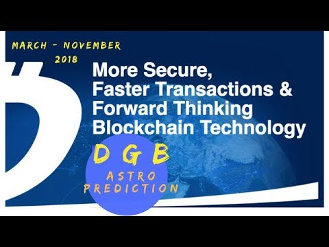 DIGIBYTE (DGB) CRYPTO TOKEN; MARCH – OCTOBER 2018 ASTRO FINANCE PREDICTION (*TRAILER)