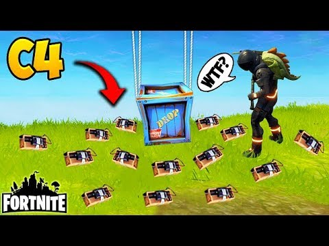 *NEW* EPIC C4 TROLL! – Fortnite Funny Fails and WTF Moments! #135 (Daily Moments)