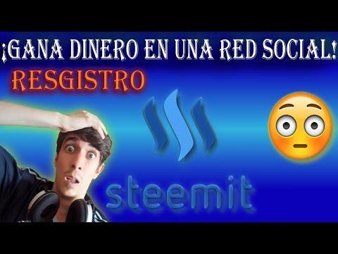 Como Registrarse en Steemit!