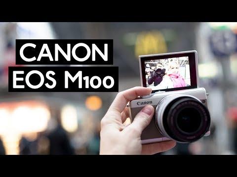 Canon EOS M100 im großen Test   beste Vlogging Kamera?   günstige Reisekamera