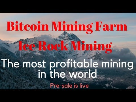 Bitcoin Mining Farm The Most Profitable in The World! Ice Rock Mining In Hindi