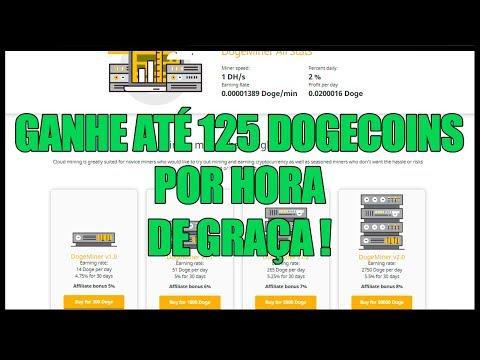 URGENTE ! NOVA MINERADORA DE DOGECOIN 1 DH/S GRÁTIS !