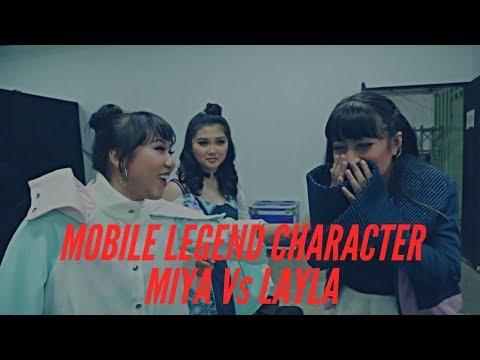 Ada Layla & Miya Mobile Legend Di Backstage TNBGB!