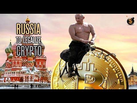 Putin Flip-Flops Like A Drunken Whore On Cryptocurrency Legalization