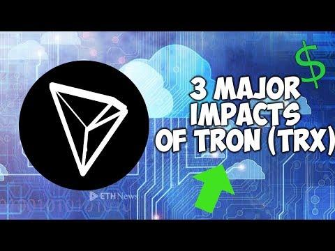 3 Major Impacts of TRON Main Net Exodus
