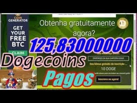 Instant-Doge Paga 125,00000000 Dogecoin, Ganhe 10 Doge Na Inscrição