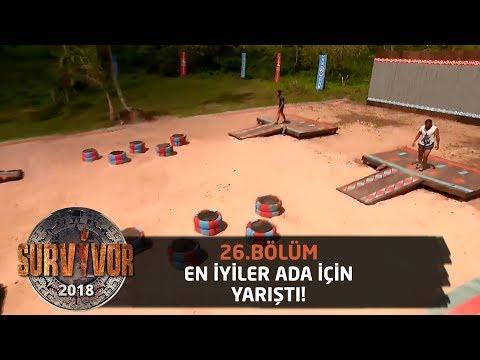 Ada oyunu nefes kesti!   26.Bölüm   Survivor 2018