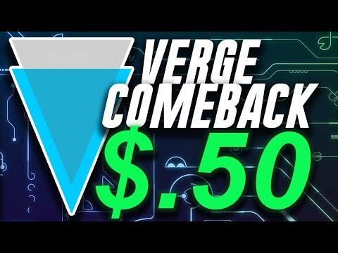 Verge XVG $.5 Comeback – Twitter Hack and Price Prediction 2018
