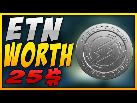 (ETN) ELECTRONEUM WILL HIT 25$ – (ADDED TO BINANCE!?)