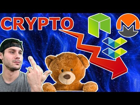 Crypto Bleeds Red | Elastos OS Prototype | Monero Hardfork | New $NEO Partnership