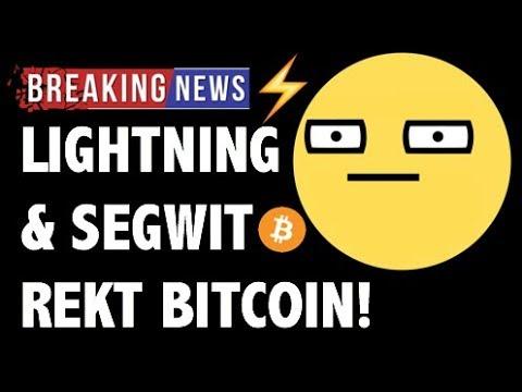 CRYPTO: LIGHTNING NETWORK REKT BITCOIN! SEGWIT,CRYPTOCURRENCY,LITECOIN,ETHEREUM,XRP RIPPLE NEWS 2018