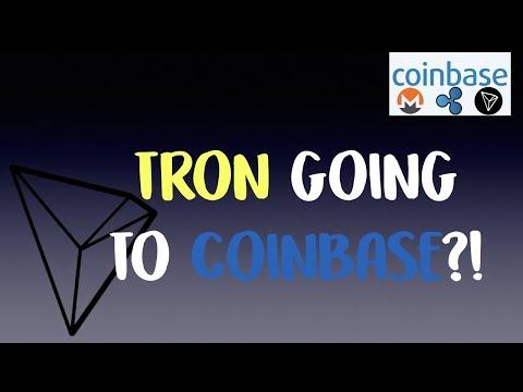 Coinbase adding Tron (TRX)?