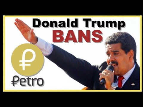 USA Bans Venezuelan Cryptocurrency PETRO