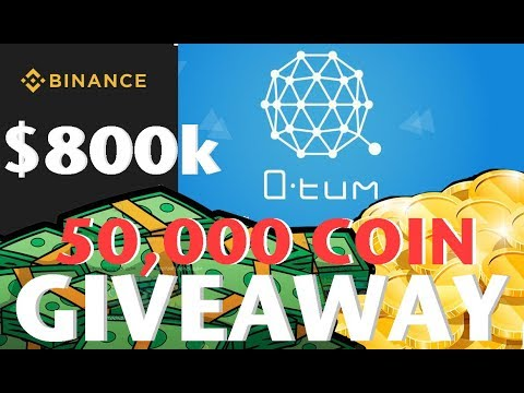 Qtum $800,000 GiveAway | 50,000 Qtum Coin GiveAway | Qtum on Binance 1st Prize over $100k