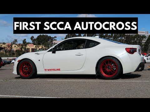 Toyota 86 STX Project – First SCCA Autocross