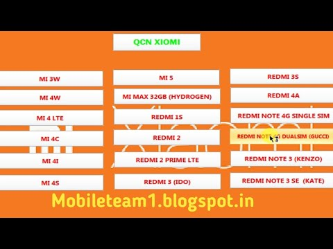 Mi redmi xaomi invalid imei baseband unknown qcn file download free