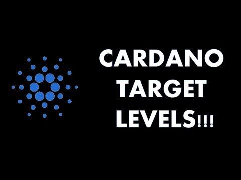 CARDANO TARGET LEVELS!!!