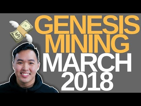 Genesis Mining March Review and profitability
