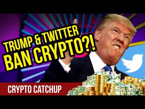 Trump and Twitter Ban Crypto! – Twitter Bans CryptoCurrency Ads – Trump Says NO to Petro!
