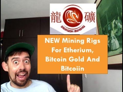 {Dragon Mining} NEW Etherium, Bitcoin Gold and Bitcoiin Mining Rigs