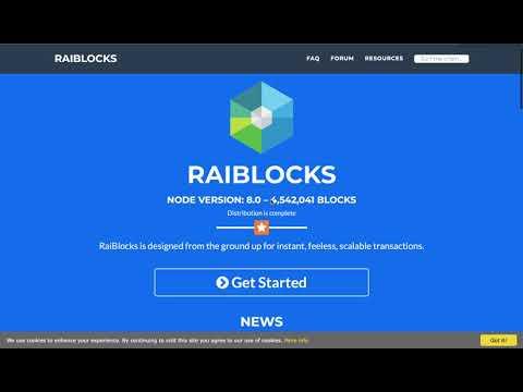 My Favorite Coins Episode 6 : RailBlocks $XRB