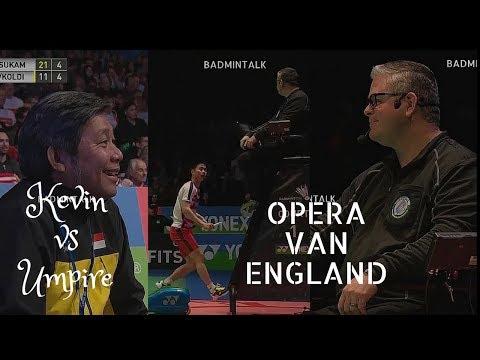 Belum ada yang Seperti Ini Kevin Gideon vs Umpire at All England Open Premier of Premier 2018