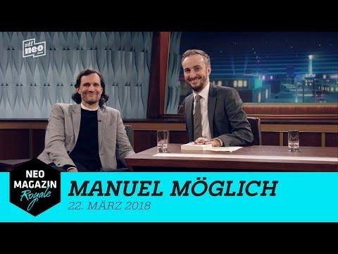 Manuel Möglich zu Gast   NEO MAGAZIN ROYALE mit Jan Böhmermann –  ZDFneo