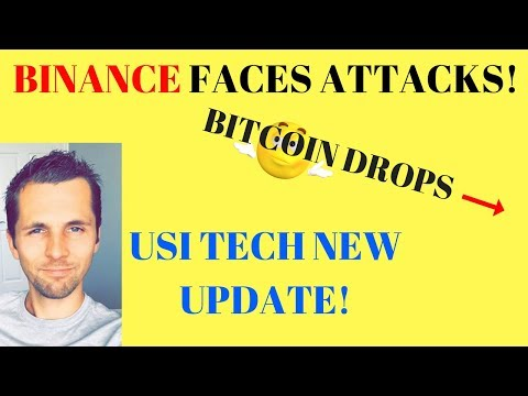 Binance Is Attacked by Japan? Causes Bitcoin to Drop – USI Tech NEW Update!
