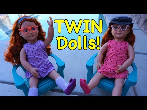 OUR GENERATION Doll Review Twins Sabina & Sia!