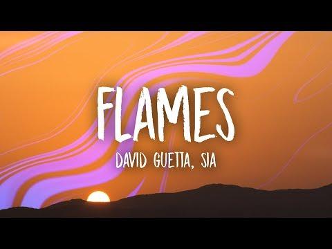 David Guetta & Sia – Flames (Lyrics)