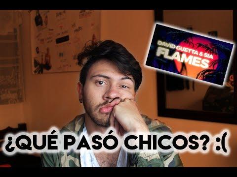 REACCIÓN A FLAMES – DAVID GUETTA ft. SIA| Niculos M