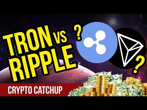 RIPPLE VS TRON?! – Which Will Grow Faster? – CryptoCurrency News
