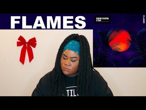 Sia, David Guetta – Flames |REACTION|