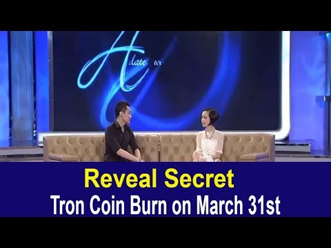 Tron TRX News – Reveal Secre: Tron Coin Burn on March 31st | TRX Coin Bull Run